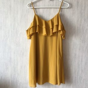 Lulu's yellow dress